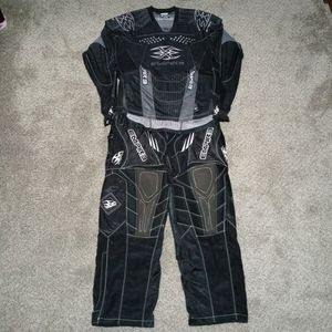 Brand new no tags EMPIRE paintball pants and top